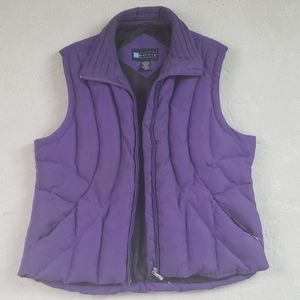 Purple Puffer Vest